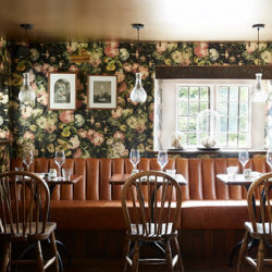 Mr Hanbury's Dining Room, a country pub and restaurant in South Leigh, Oxfordshire